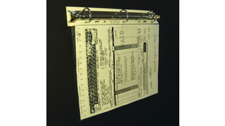 Magnetic document holders