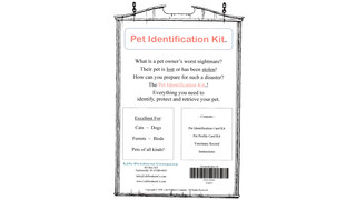 Pet Identification Kit