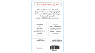 Student Inventory Kit