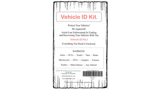Vehicle Identification Kit