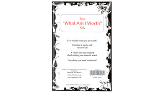 The What Am I Worth Kit