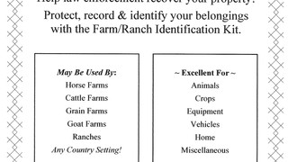 Farm/Ranch Identification Kit