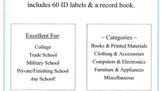 Student Inventory Kit