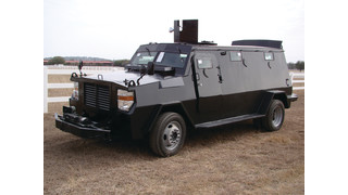 Armored Ford F350 and F550 Truck