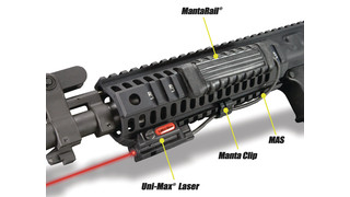 Complete laser kit for rifles