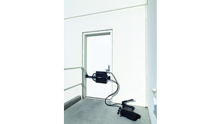Door Blower Forced Entry System