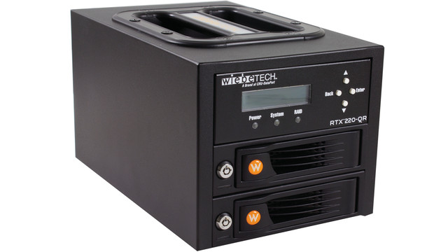 RTX220-QR - Portable Enclosure with RAID