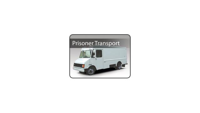 Prisoner Transport Step Van