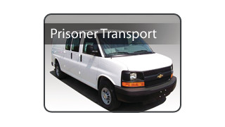 Prisoner Transport Chevy Van
