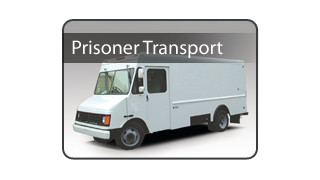 Prisoner Transport Step Van