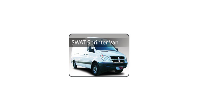 SWAT Sprinter Van