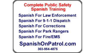 SPANISH ON PATROL