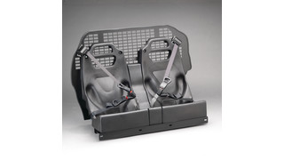 Pro-Straint Prisoner Transport Restraint System - Chevrolet Tahoe Prisoner Rear Seat Screen
