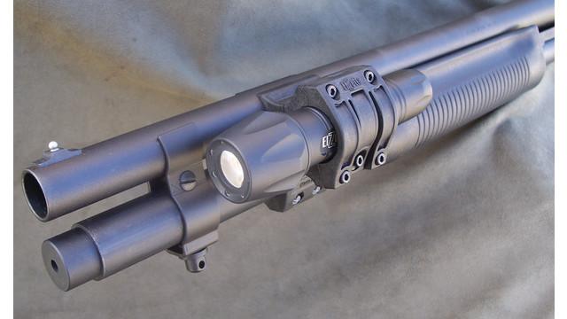 ZSM Flashlight Mount for Tactical Shotguns