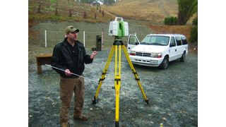 3D Laser Scanning of Shooting Scenes and Trajectories