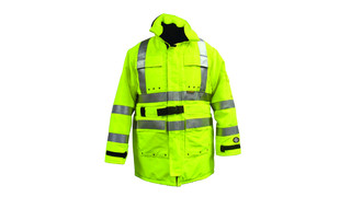 High Visibility Green Jacket