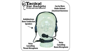 Tactical EarGadgets - Crane Extreme headset