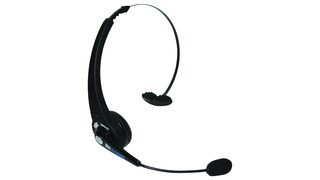 Blu-Comm Bluetooth Over The Head Lightweight Headset