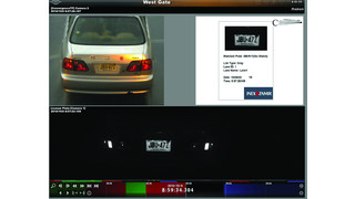 Ocularis IP License plate recognition integration