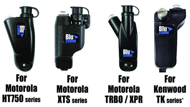 Blu-Comm Bluetooth Radio Adaptors for 2-Way Radios