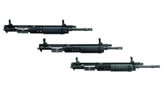 Piston-driven uppers for SR-556 AR