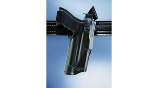 Thermoplastic alloy in holsters