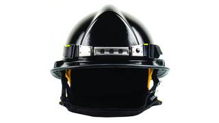 Futuristic Metal LED Fire Safety Helmet Light