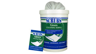 SCRUBS Green Wipes