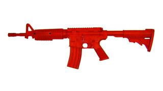 ASP: Red Training Guns, AR15 Government Carbine Flat Top