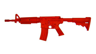 ASP: Red Training Guns, AR15 Government Carbine Flat Top