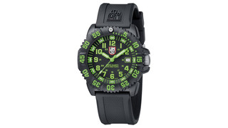 LUMINOX NAVY SEAL COLORMARK 3050 WATCH - GREEN #DWM0225