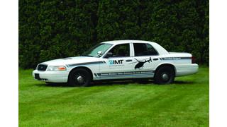 Crown Vic Video Downlink-Equipped Patrol Car
