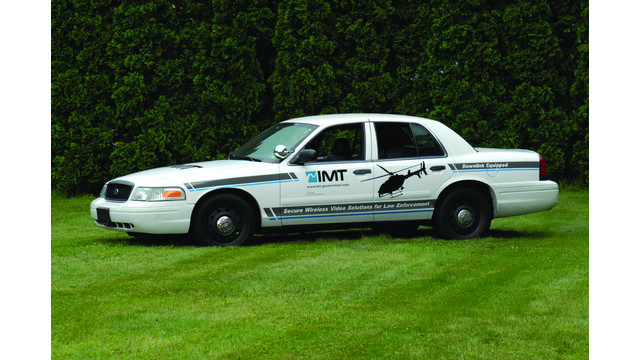 Crown Vic Video Downlink-Equipped Patrol Car