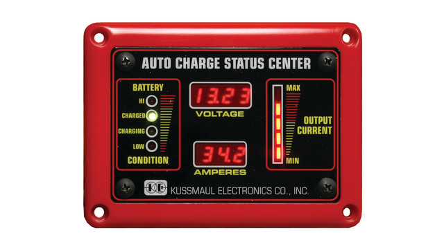 Deluxe Auto Charge Status Center