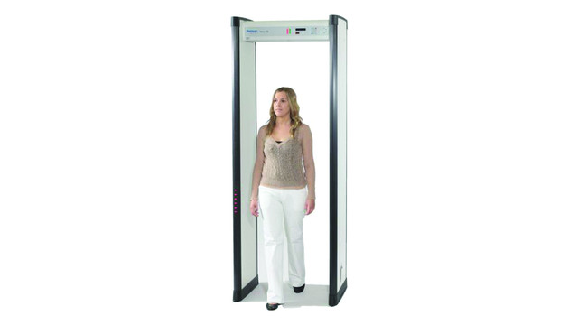 Metor 6S Walk-Through Metal Detector