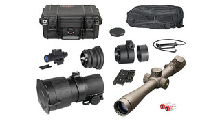ATN PS22-3A Day Night Tactical Kit + Leupold Mark 4 3.5-10x40mm