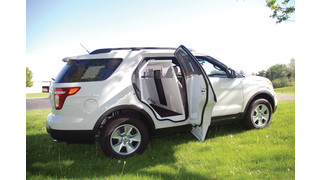 2011 Ford Explorer K9 Transport Unit - 2011 Innovation Awards Winner