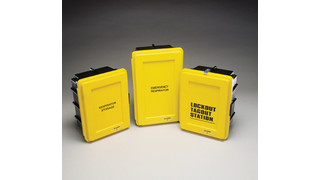 Hi-Viz Heavy Duty SCBA Wall Cases