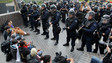 Police Clashes Mar Occupy Wall Street Protests