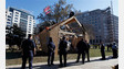 D.C. Protesters Arrested Over Structure