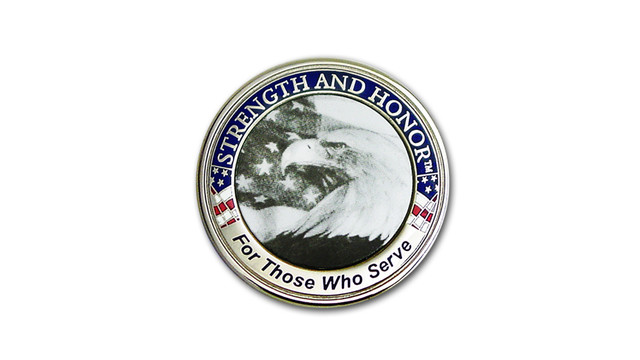 Strength and Honor Coin