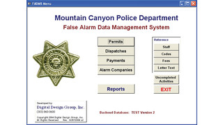 False Alarm Data Management System