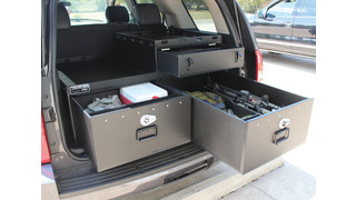Heavy-Use Truck Compartments, Consoles, Equipment Racks, Weapon/Gear Storage