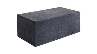 Ballistic rubber range block