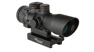 MIL-GRADE Mini Red Dot Sight and the CP2 Tactical Rifle Scope