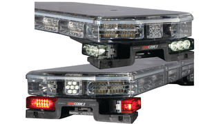 LED Lighted Mounting Feet options for Code 3 lightbars