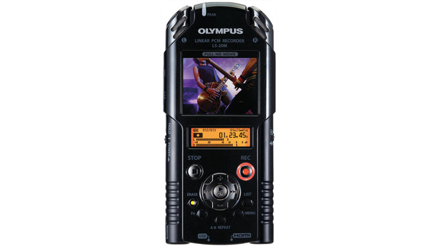 LS-20M handheld HD video & Linear PCM recorder