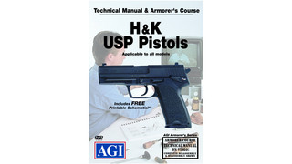 Technical Manual & Armorer's Course: H&K USP Pistols