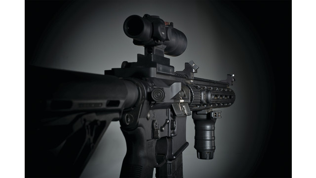 XTI (Xpress Threat Interdiction) AR-15 Angle Mount Back-up Iron Sight