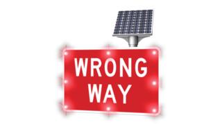 Wrong Way Driver Warning System
